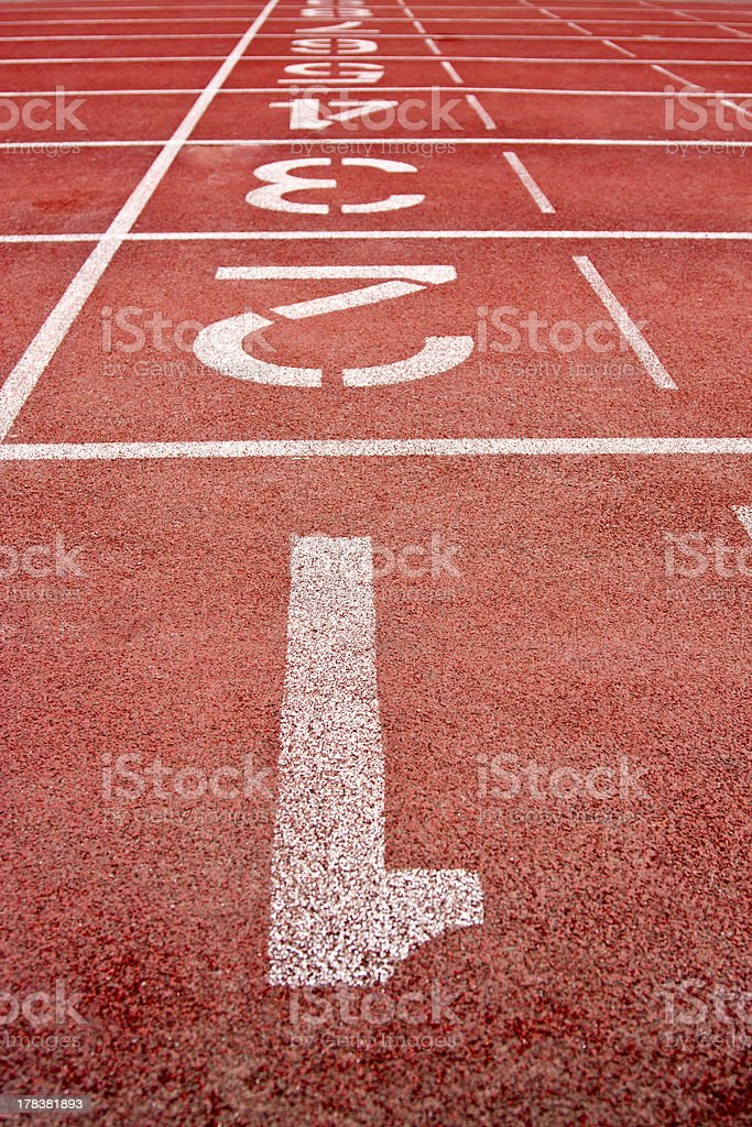 track lane royalty-free stock photo