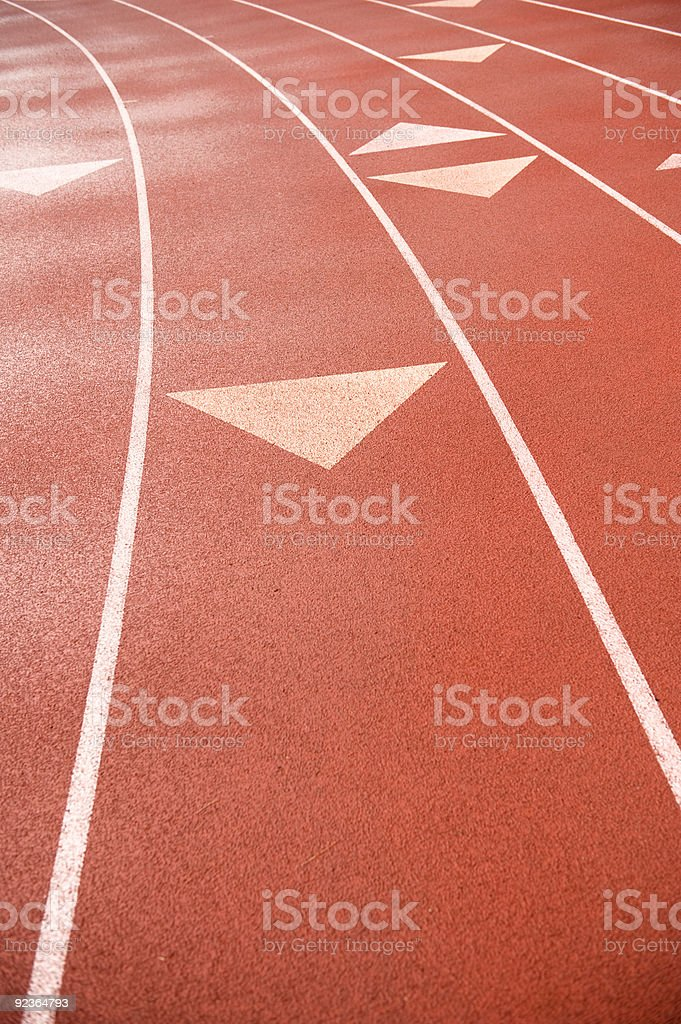 Track Lanes royalty-free stock photo