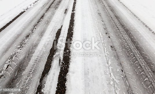 1127834626 istock photo Track on the road 1005252018