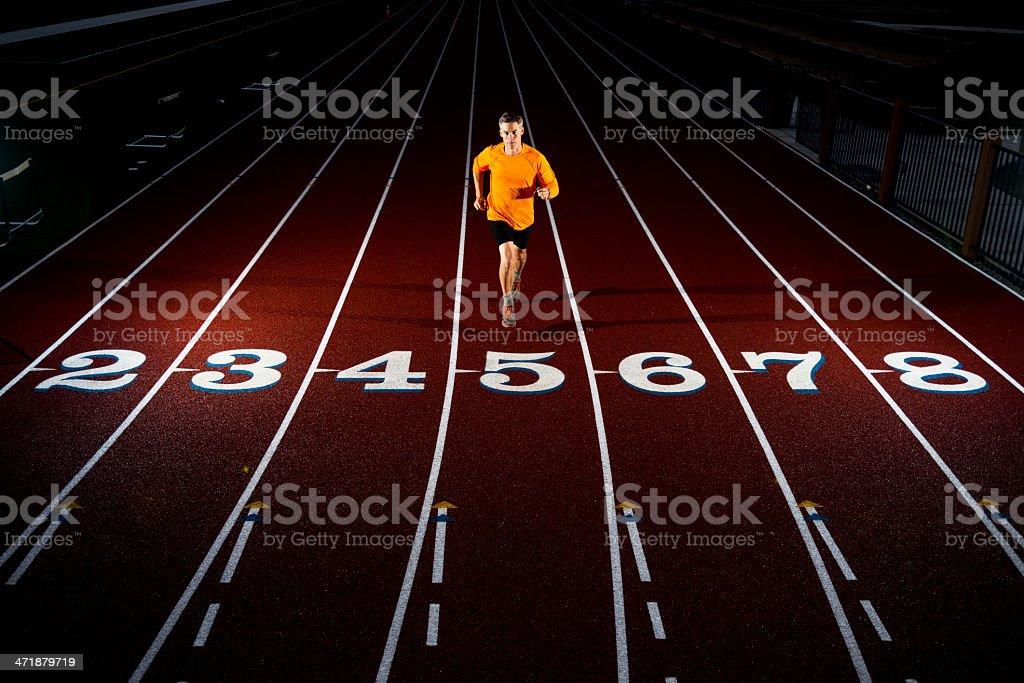 track stock photo