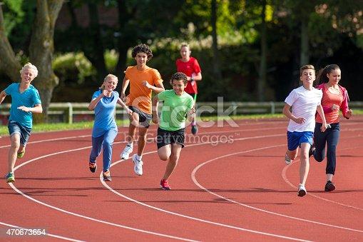istock Track Stars 470673654