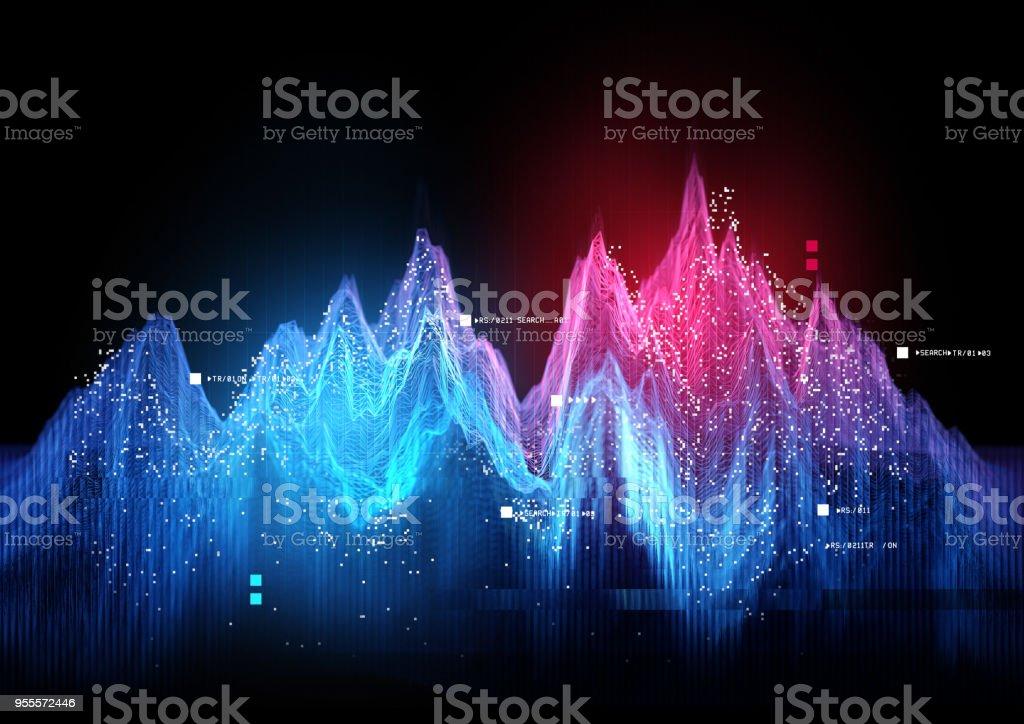 Tracking-Statistik Visualisierung – Foto