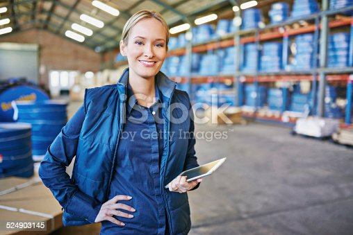 istock Tracking your order to its destination 524903145
