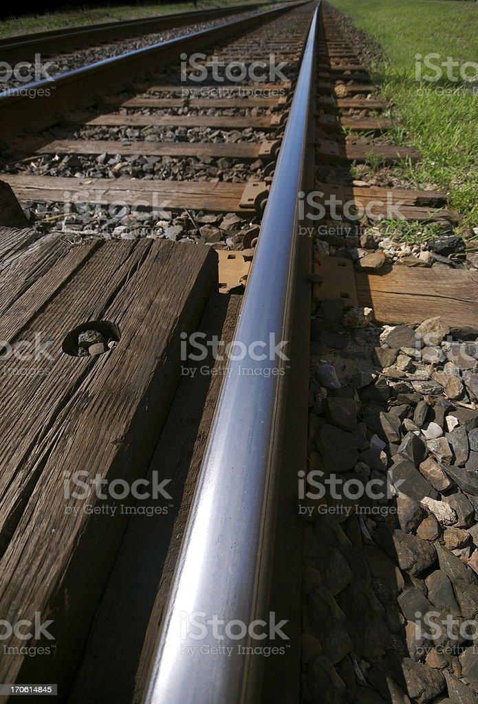Tracks royalty-free stock photo