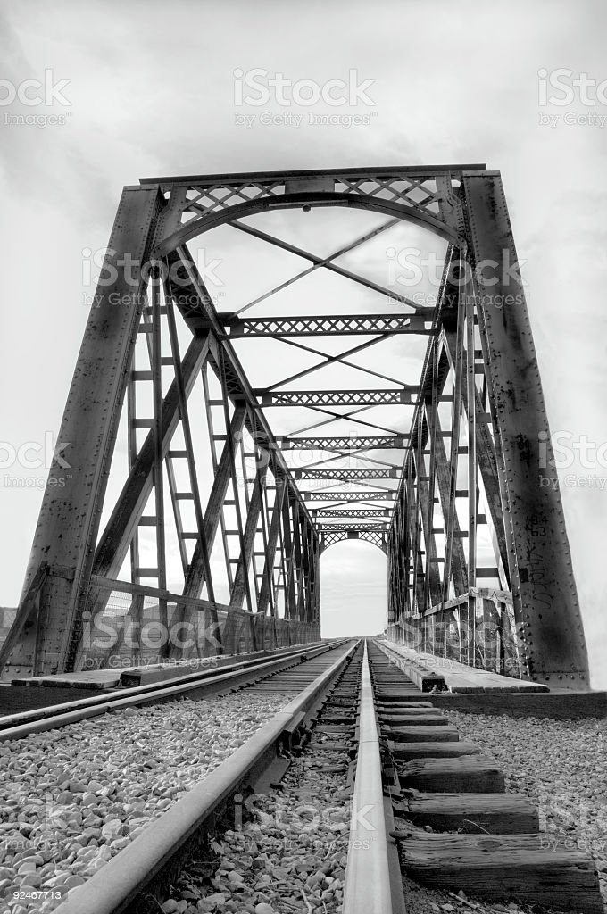 Tracks To Nowhere royalty-free stock photo