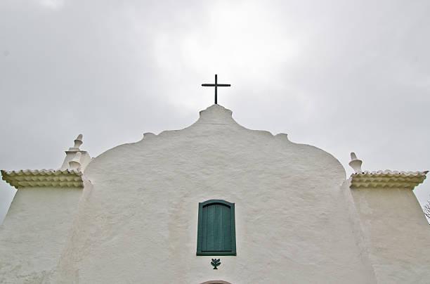 Tracoso church stock photo