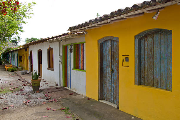 Tracoso Village stock photo
