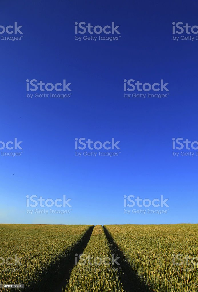 Tract to the Sky stock photo