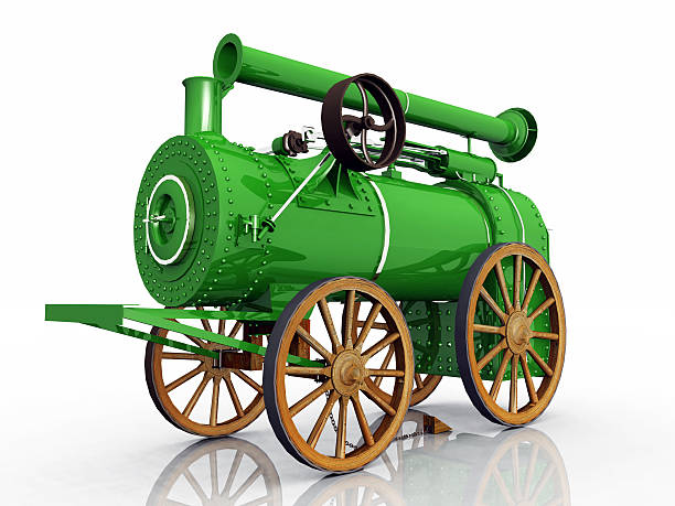 traction engine - industrial revolution stock pictures, royalty-free photos & images