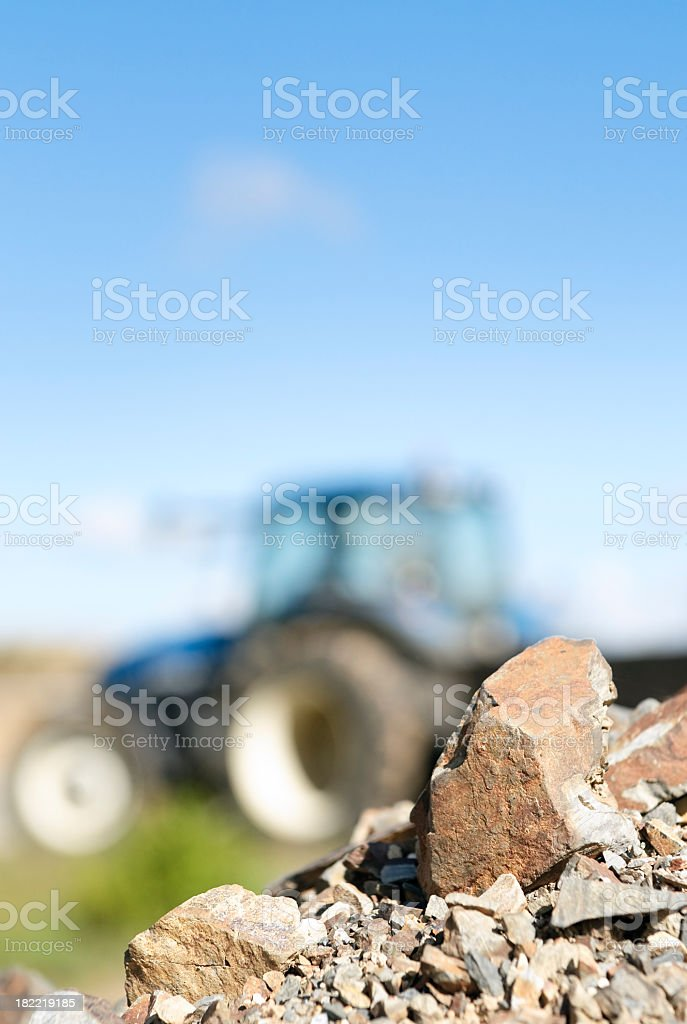 Tractor Abstract royalty-free stock photo