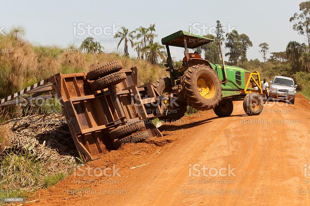 Tracteur Accident de l'Afrique - Photo