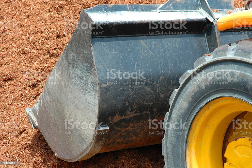 Tractor  Carrying Load royalty-free stock photo