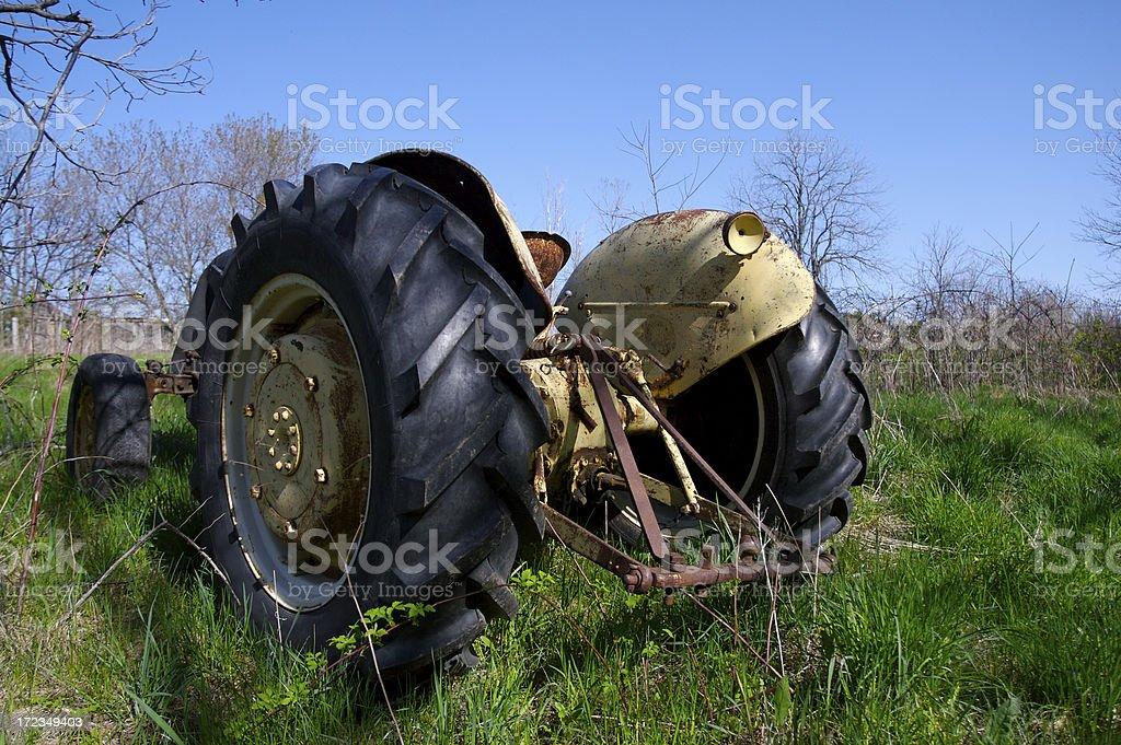 Tractor foto de stock libre de derechos