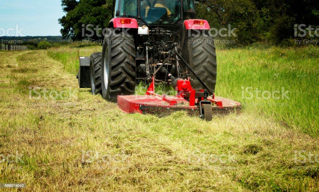 Tractor - foto de stock