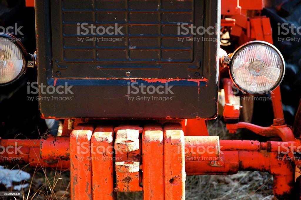 tractor royaltyfri bildbanksbilder