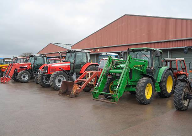 Tractor Sale stock photo