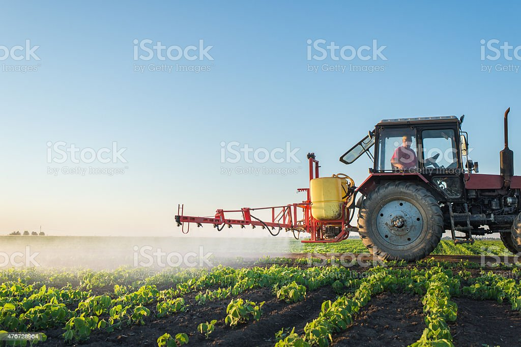 Traktor Sprühen – Foto