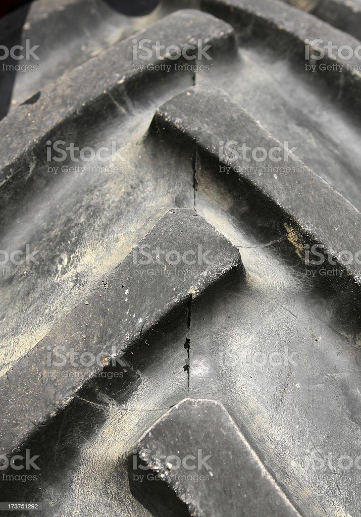Gomma del trattore - foto stock