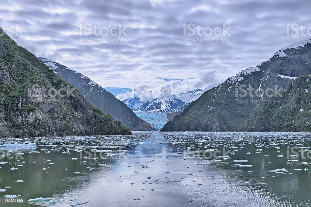 Tracy Arm Fjord stock photo
