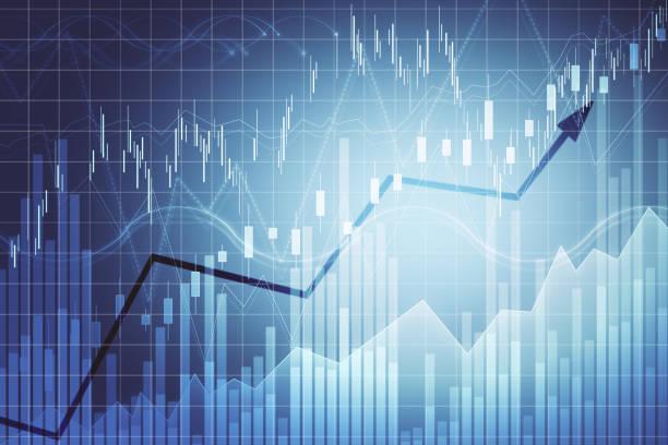 Handels- und Finanzhintergrund – Foto
