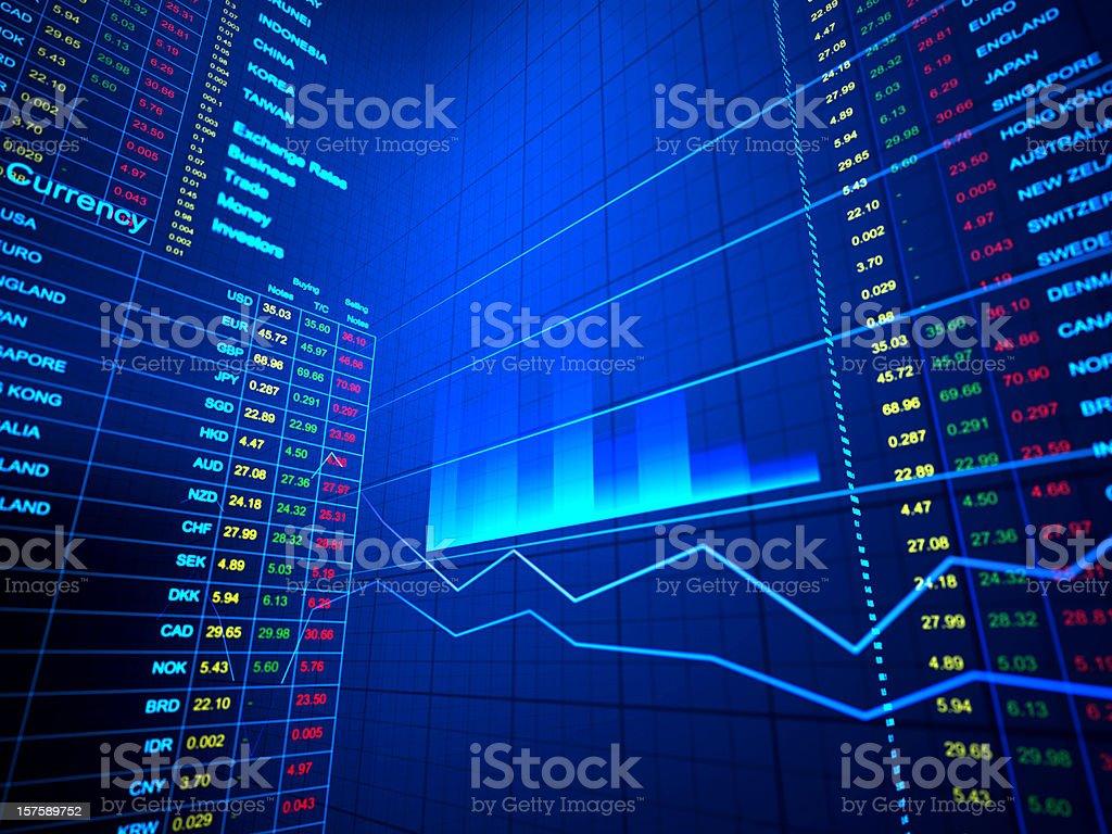 Trade background royalty-free stock photo