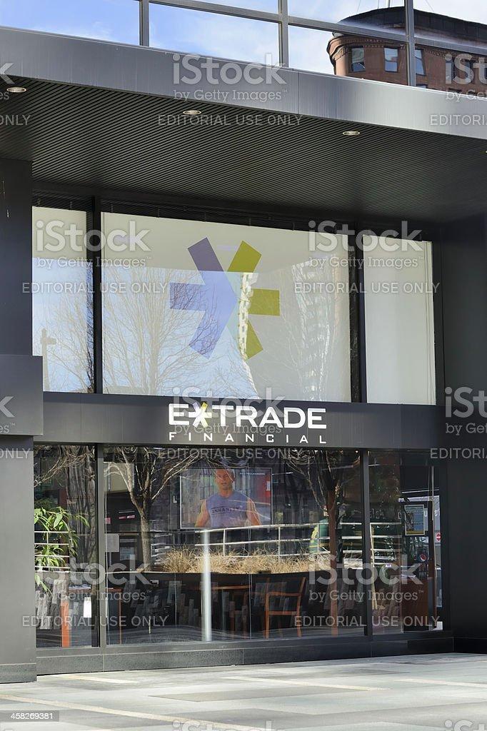 E*Trade Financial stock photo