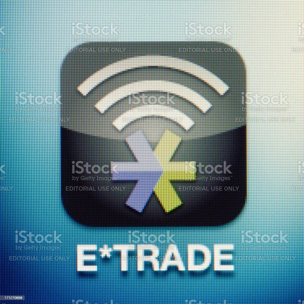 E*trade stock photo