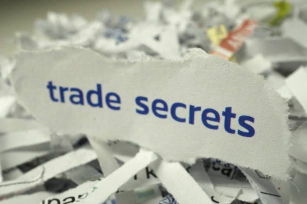 Cтоковое фото trade secrets