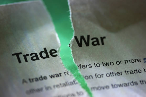 trade war shot of word trade war tariff stock pictures, royalty-free photos & images