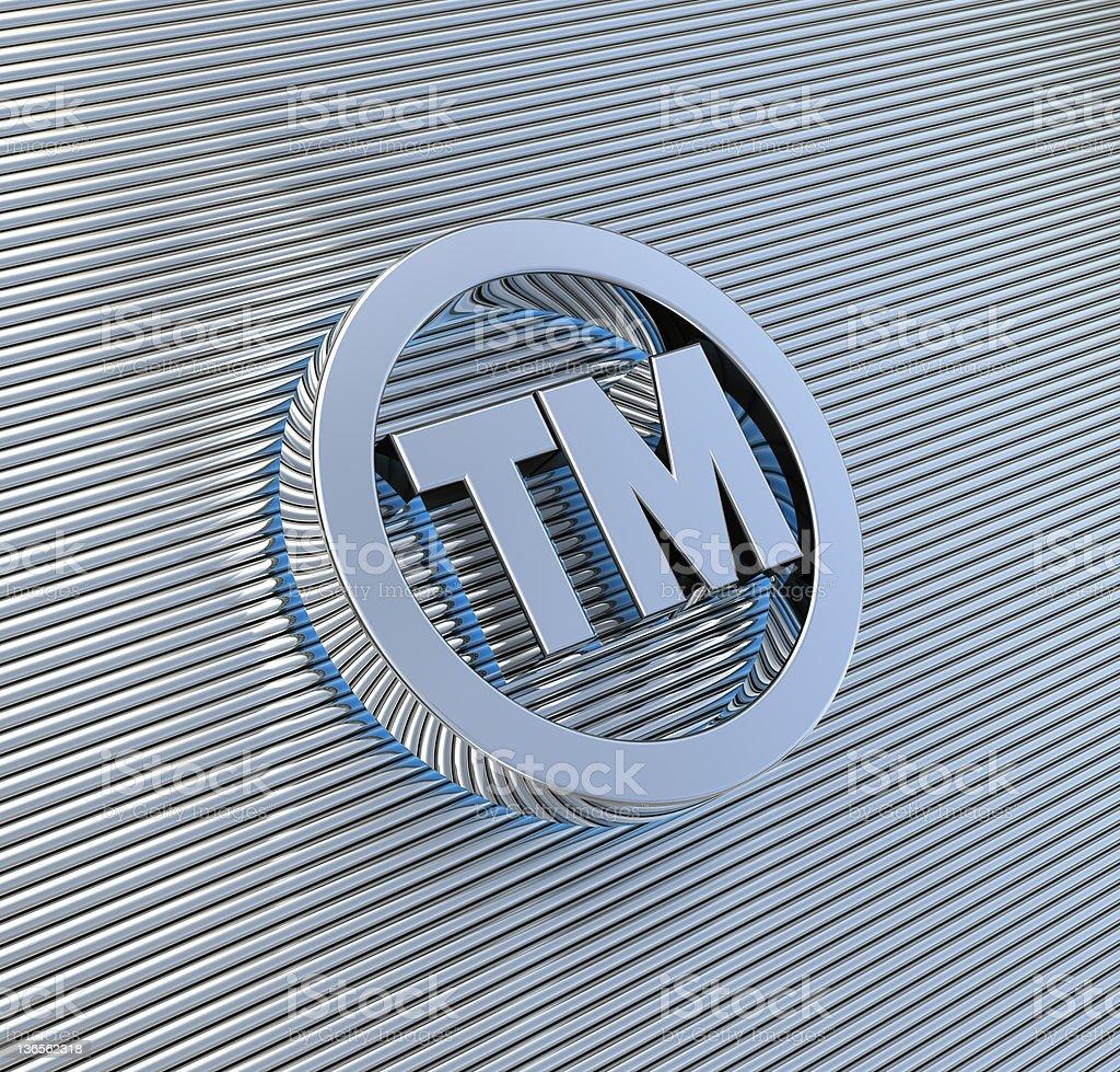 Trademark Symbol stock photo