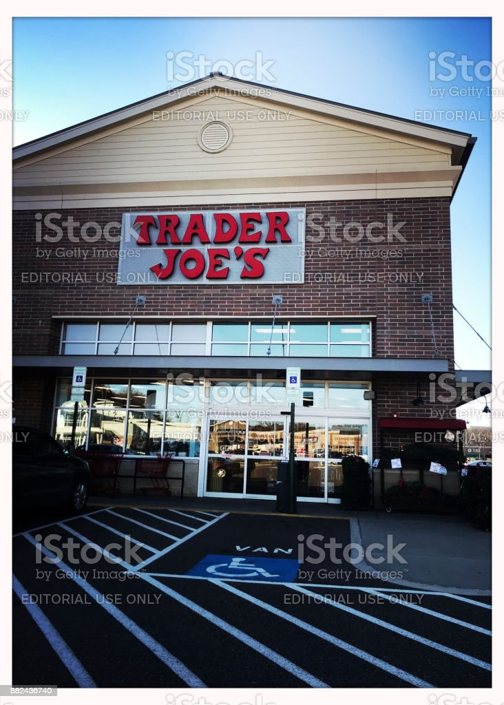 Trader Joe's at McCandless Crossing Location stock photo