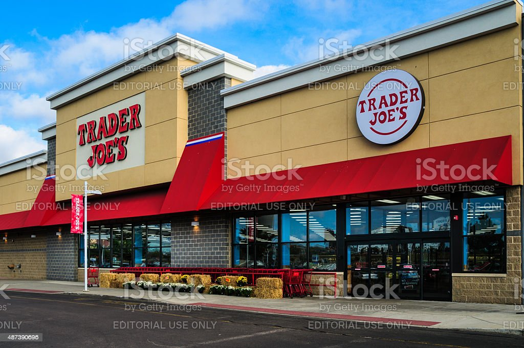 Trader Joe's- Foxboro stock photo