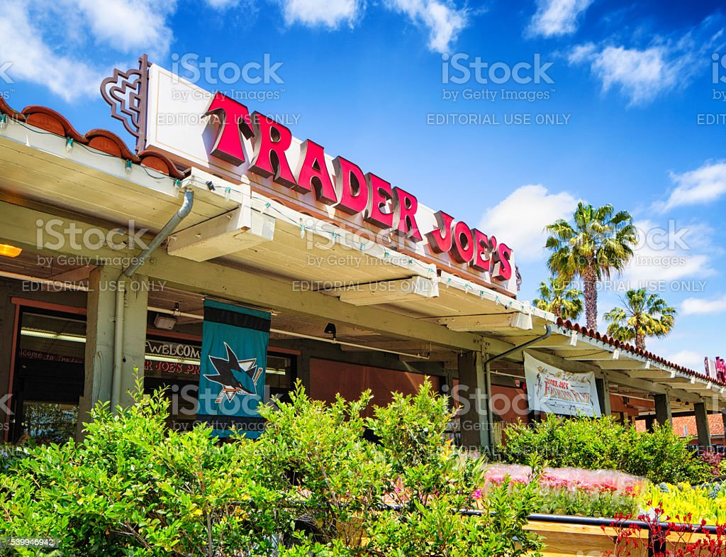 Trader Joe's grocery store in campbell California stock photo