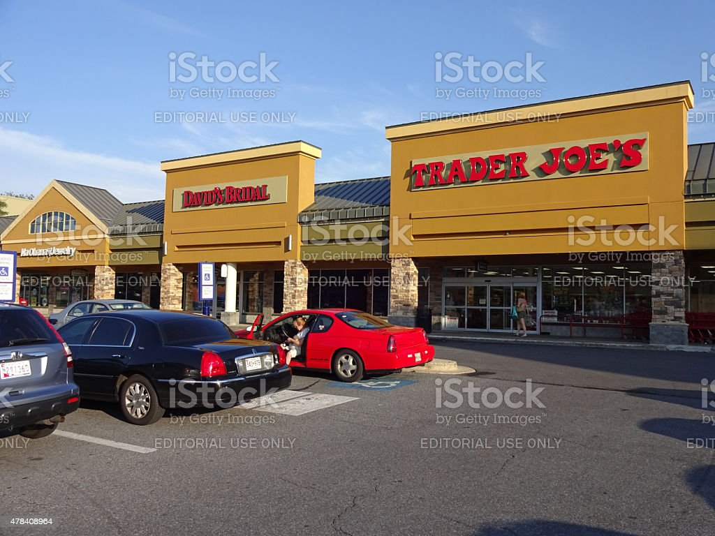 Trader Joe's Grocery Store in Rockville stock photo