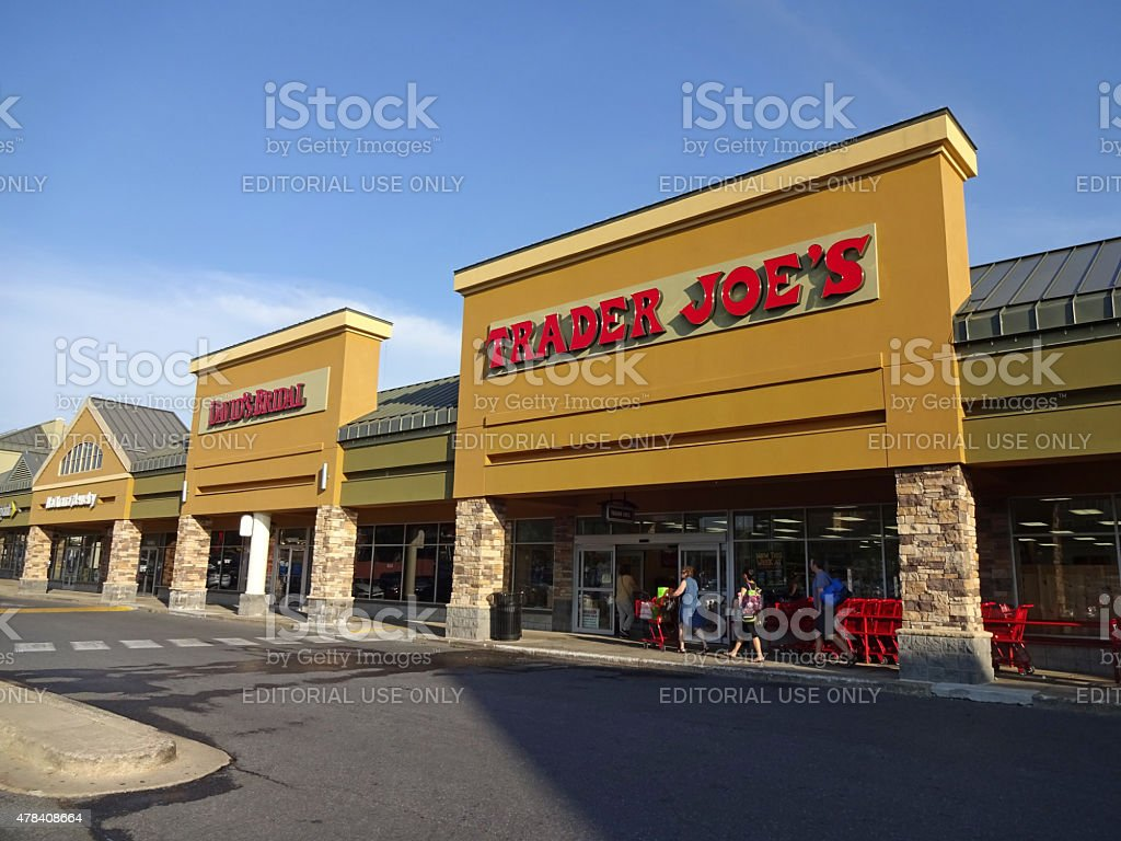 Trader Joe's Grocery Store stock photo