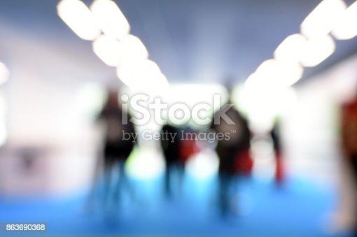 istock Tradeshow Entrance 863690368