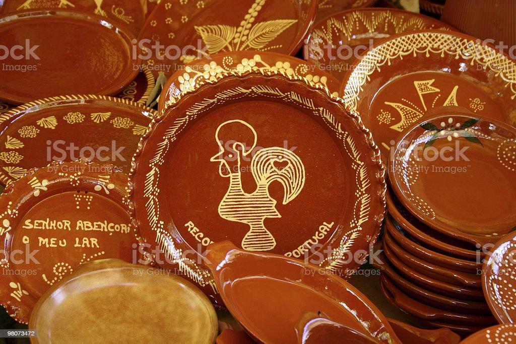 Tradicional Ceramics royalty-free stock photo