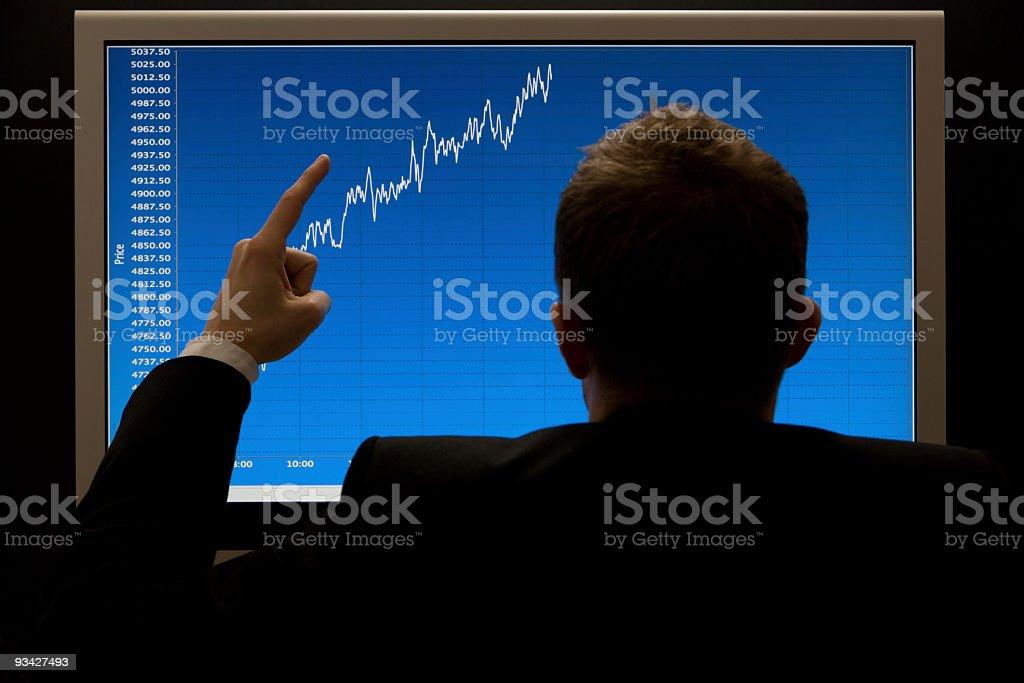 trading success royalty-free stock photo