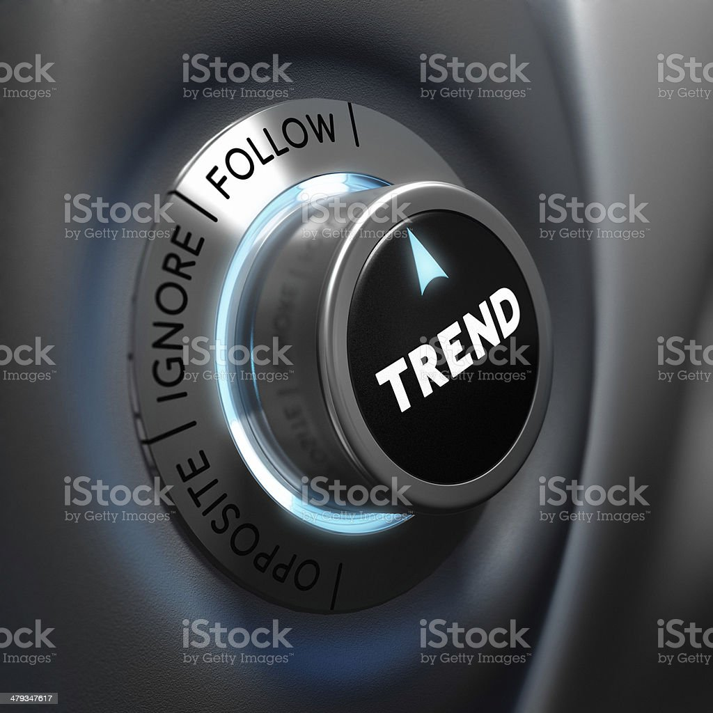 Trading, Trend Following stock photo