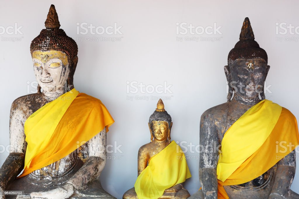 tradition buddha statue with southern style of thailand - Royalty-free Ancient Stock Photo