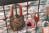 Tradition to put a lock with your love