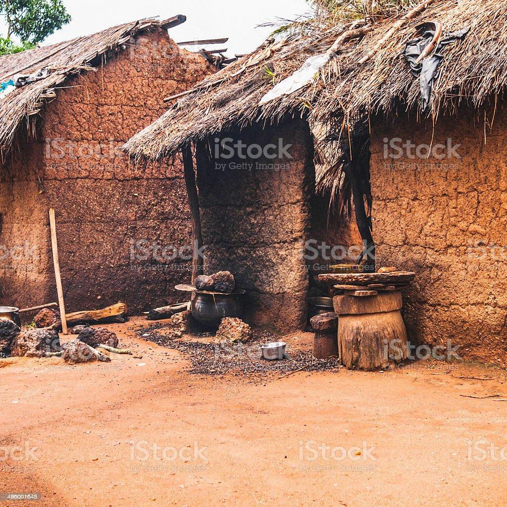 Case tradizionali africani fotografie stock e altre for Case tradizionali