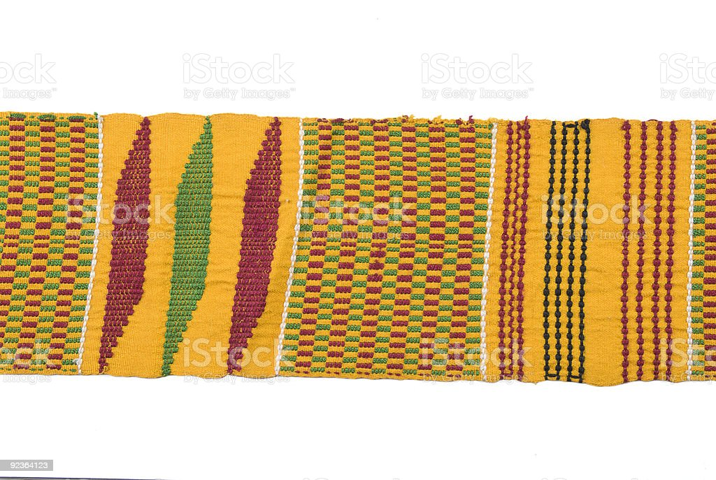 Traditional African woven belt royalty-free stock photo
