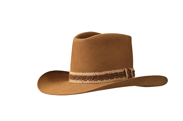 8f604bb3aead8 Traditional American cowboy hat stock photo