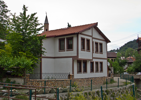 Traditional and historical Anatolian houses in Mudurnu