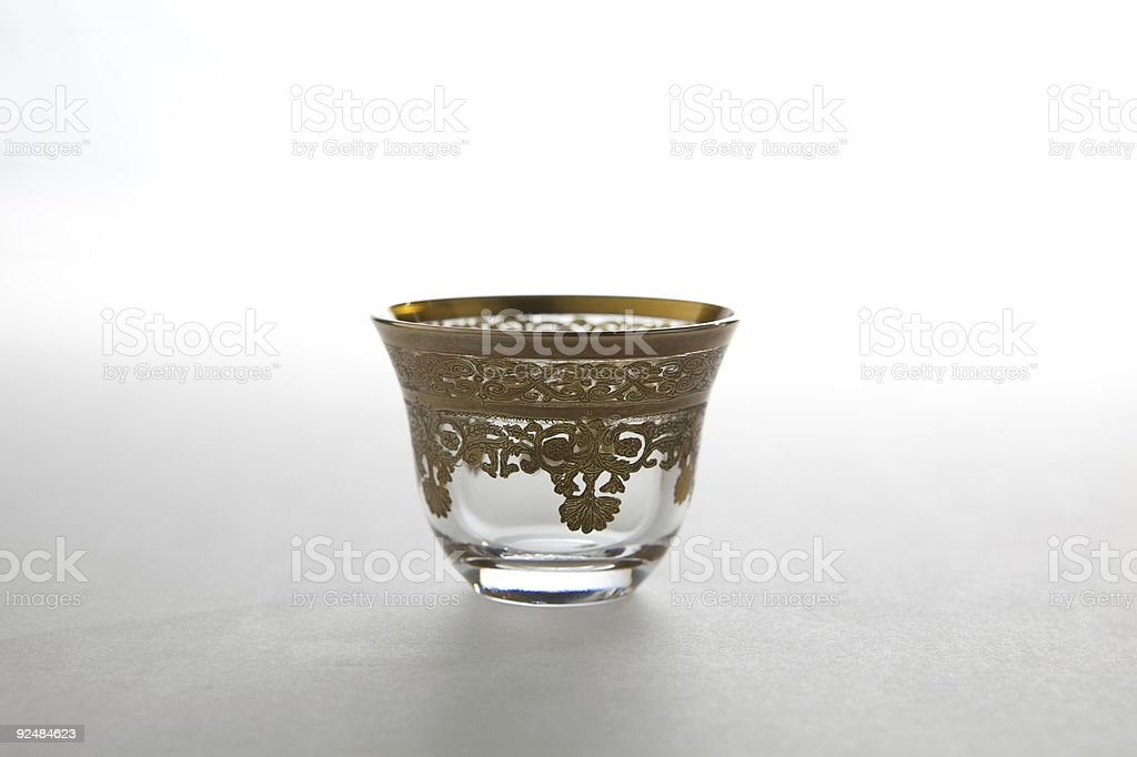 Traditional Arabian Coffee cup royalty-free stock photo