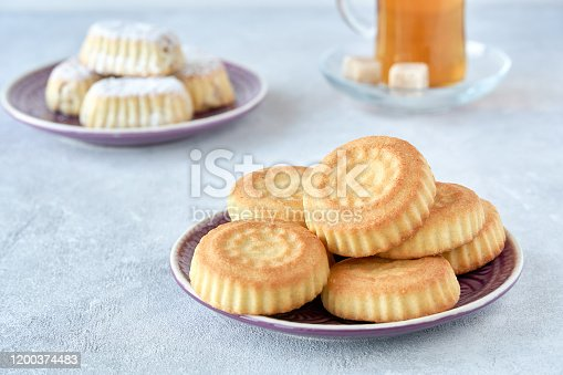 963384046 istock photo Traditional arabic maamoul cookies with dares and walnut 1200374483