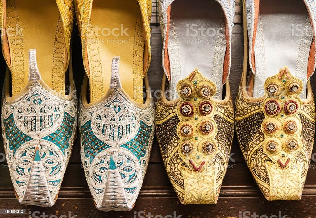Traditional Arabic Sandals royalty-free stock photo
