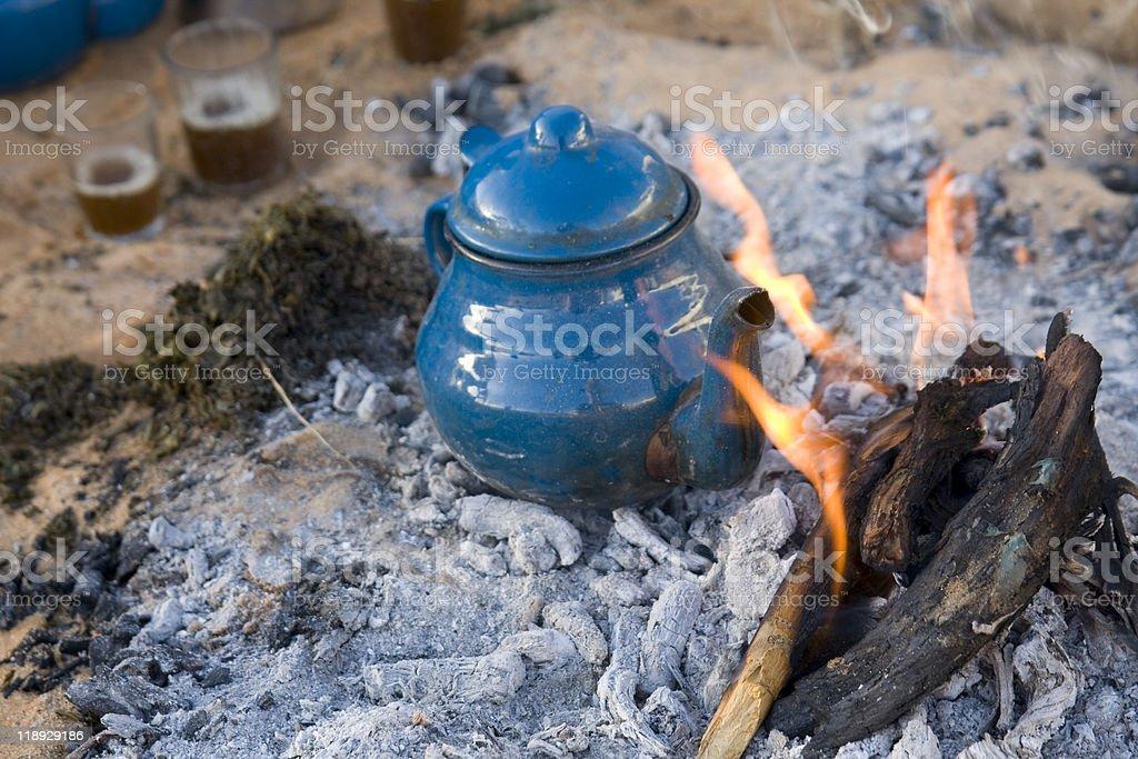 traditional arabic tea royalty-free stock photo