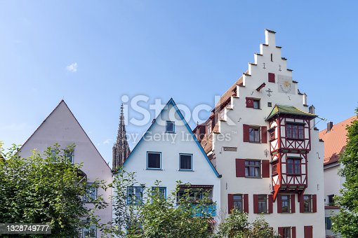 istock Traditional Architecture in the city of Ulm 1328749777